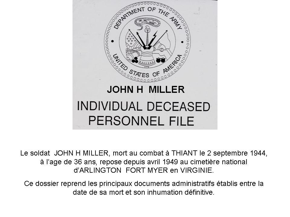 john h miller